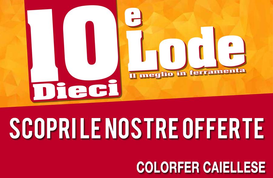 Promo Ferramenta Colorfer Cajellese